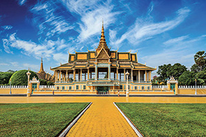 cambodge phnom penh palais royal  fo