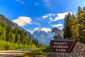 canada parc mount robson  it