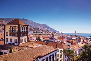 canaries funchal vue de centre ville  it