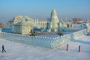 chine harbin sculpture de glace  fo