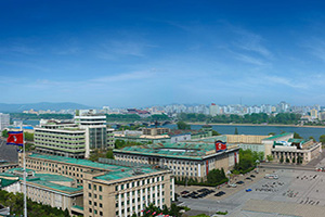 coree nord pyongyang place kim ii sung  it
