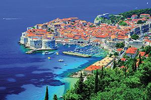 croatie dubrovnik panorama  fo