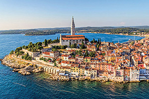 croatie rovinj vue aerienne  fo
