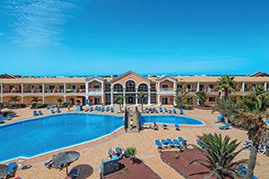 espagne canaries fuertventura hotel cotillo beach vue aerienne