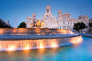 espagne madrid plaza de cibeles  it