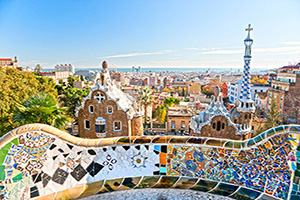 espgne barcelone parc guell  fo