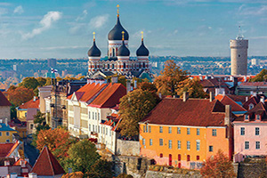 estonie tallinn vue aerienne  it