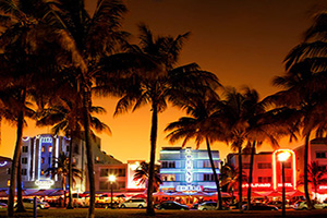 etats unis miami ocean drive  it