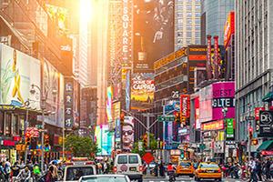 (vignette) Vignette Etats Unis New York Times Square  it