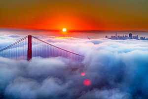 etats unis san francisco golden gate  it