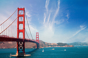 etats unis san francisco pont golden gate  it
