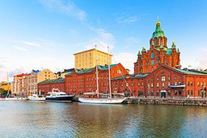 finlande helsinki vieille ville  fo