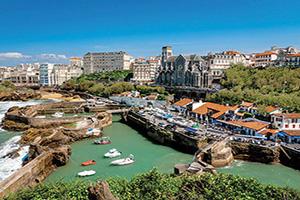 france biarritz eglise et tonnelle  fo