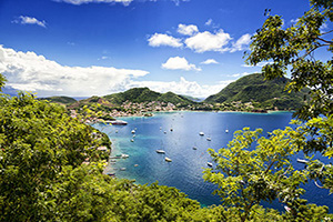 france guadeloupe saintes islands bay terre haute  fo
