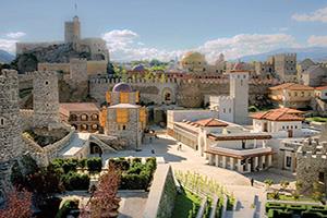 georgie akhaltsikhe vue de la celebre rabat forteresse  fo