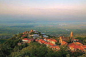 georgie signagi kakheti panorama  it