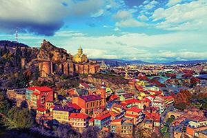 georgie tbilissi panorama  it