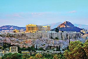grece athenes acropole parthenon  it