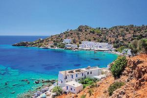 grece crete loutro village  fo