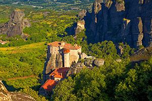 grece meteora monastere  fo