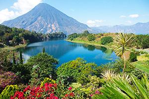 guatemala lac atitlan panorama  fo