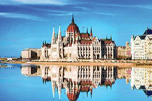 hongrie  budapest parlement et danube  it