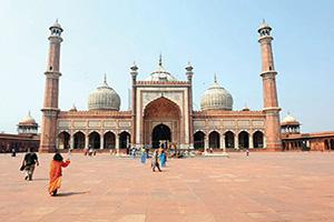 inde delhi jamma masjid  fo