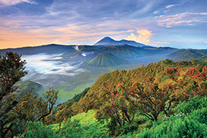 indonesie java volcan bromo au lever du soleil  fo