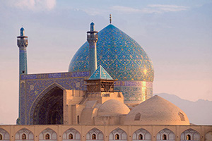 iran isfahan mosquee shah  it