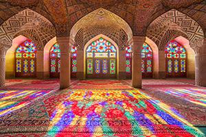 iran shiraz nasir al mulk mosquee  fo