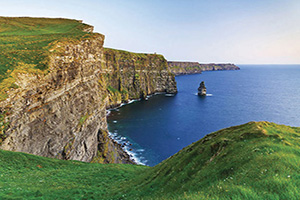 irlande moher prairies a cliffs  fo