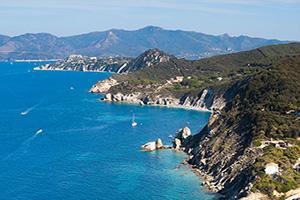 San Rémo, l'île d'Elbe, les Cinque Terre et Portofino - Départ Sud