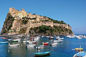 italie ischia aragonese chateau aragon  fo