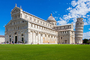 italie pise place cathedrale  it