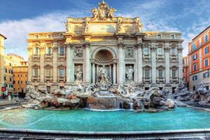 Rome, Le Vatican et Tivoli - Départ Sud