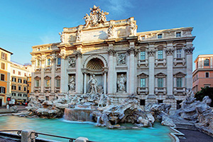 italie rome fontaine trevi  it