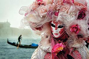italie venise femme avec masque  it