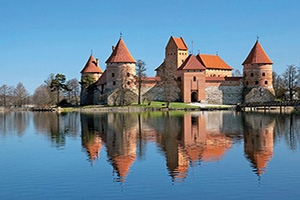 lituanie trakai chateau  it