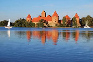 lituanie vilnius chateau trakai  fo