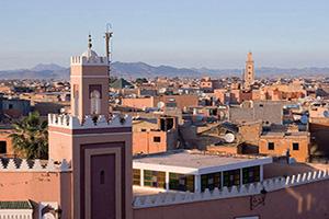 maroc marrakech historique ville fortifiee  it