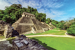 mexique palenque temples en palenque  fo