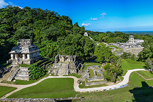 mexique palenque ruines maya  it