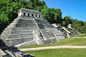 mexique palenque temples maya  it