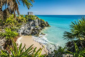 mexique yucatan tulum ruines mayas  fo