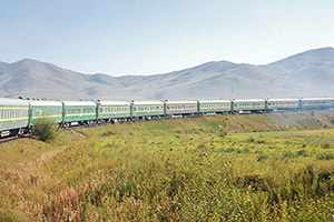 mongolie trainsiberian train ulaanbaatar beijing  it