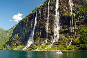 norvege bateaux fjord  fo
