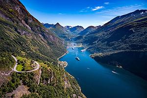 circuit norvege geiranger fjord  fo