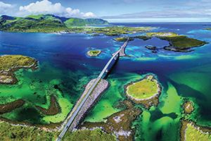 norvege ponts lofoten panorama  it
