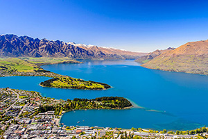 nouvelle zelande queenstown panorama  fo