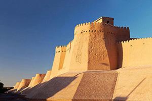 ouzbekistan khiva itchan kala mur  it